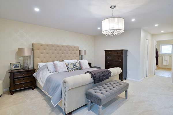 Cozy bedroom in Winnipeg by your contractor.