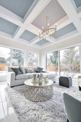 Amazing sun room in Winnipeg newly renovated house.